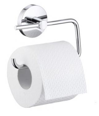 Držák toaletního papíru Hansgrohe Logis chrom 40526000 chrom chrom