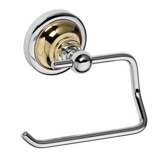 Držák toal.papíru Bemeta RETRO - gold a chrom chrom/zlatá 144212028 ostatní chrom