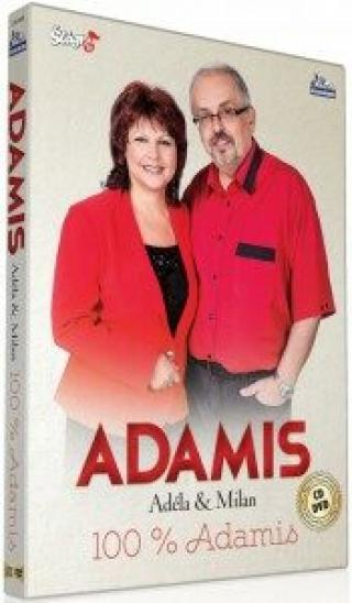Duo Adamis - 100% Adamis - CD   DVD