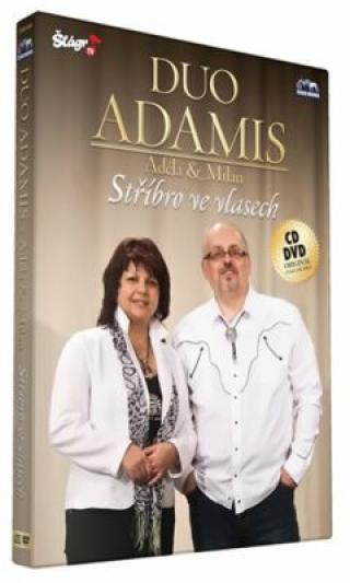 Duo Adamis - Stříbro ve vlasech - CD DVD - DVD