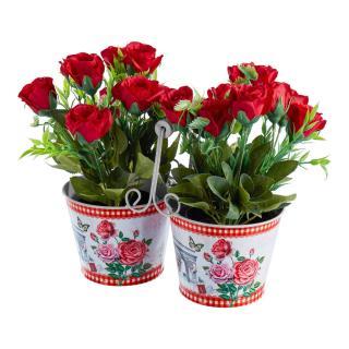 Duo květináč růže