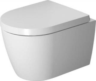 Duravit ME by Starck závěsné WC Compact, Rimless, s HygieneGlaze, alpská bílá 2530092000 bílá bílá