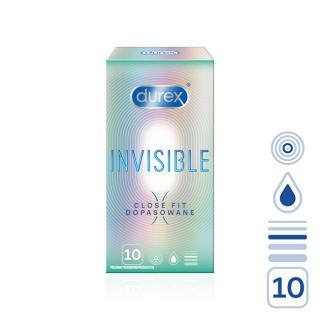Durex Kondomy Invisible Close Fit 10 ks