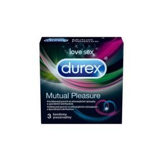 Durex Kondomy Mutual Pleasure - SLEVA - poškozená krabička 10 ks