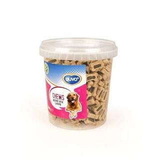 DUVO  Chews! Bone mix lamb měkké pochoutky 500g