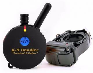 E-Collar Tactical K9-400 elektronický výcvikový obojek - pro 1 psa