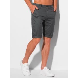 Edoti Mens chino shorts W346 pánské DARK GREY 30