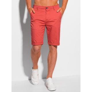 Edoti Mens chino shorts W346 pánské Red 30