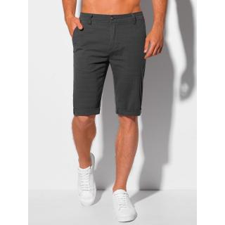 Edoti Mens chino shorts W347 pánské Black 30