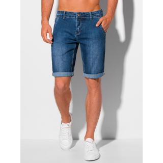 Edoti Mens denim shorts W349 pánské Blue 30