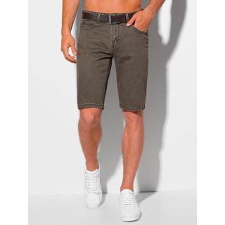 Edoti Mens denim shorts W350 pánské DARK GREY 29