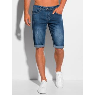 Edoti Mens denim shorts W353 pánské Blue 30