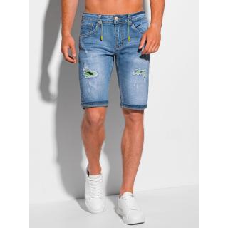 Edoti Mens denim shorts W354 pánské Blue 28
