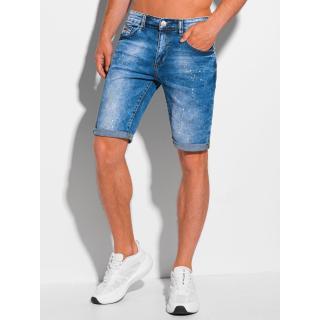 Edoti Mens denim shorts W356 pánské Blue 30