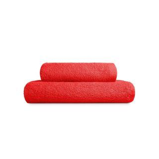 Edoti Towel A327 70x140 Red 50x100