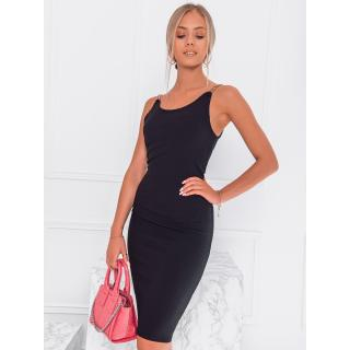 Edoti Womens dress DLR022 dámské Black One size