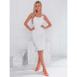 Edoti Womens dress DLR022 dámské White One size