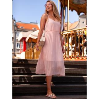 Edoti Womens dress DLR023 dámské Pink One size