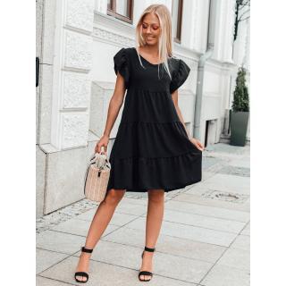 Edoti Womens dress DLR026 dámské Black One size