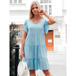 Edoti Womens dress DLR026 dámské Blue One size