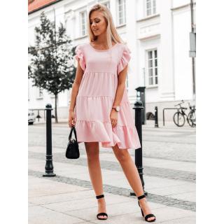 Edoti Womens dress DLR026 dámské Pink One size