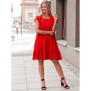 Edoti Womens dress DLR026 dámské Red One size