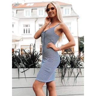 Edoti Womens dress DLR029 dámské White One size