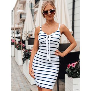 Edoti Womens dress DLR031 dámské White One size