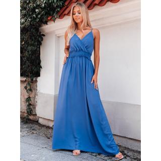 Edoti Womens dress DLR036 dámské Blue One size