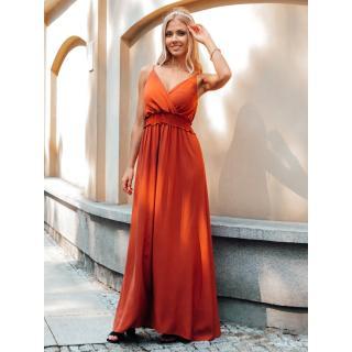 Edoti Womens dress DLR036 dámské Red One size