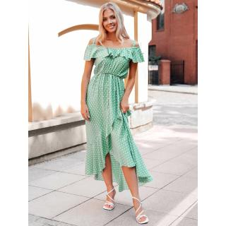 Edoti Womens dress DLR037 dámské Green M