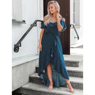 Edoti Womens dress DLR037 dámské Navy XL
