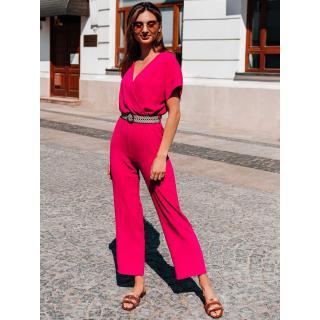 Edoti Womens jumpsuit ZLR014 dámské Pink One size