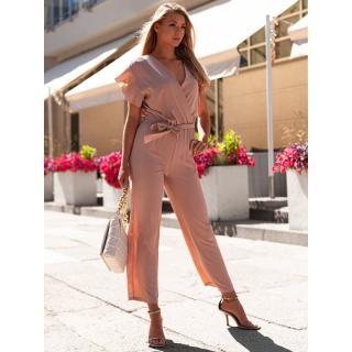 Edoti Womens jumpsuit ZLR015 dámské Pink One size