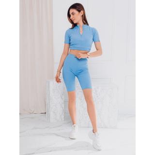 Edoti Womens set blouse   shorts ZLR013 dámské Blue S