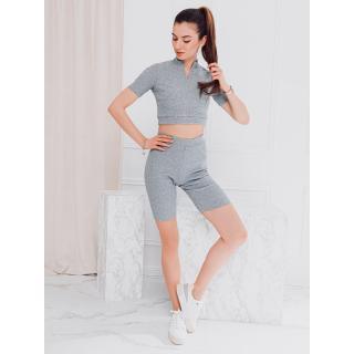 Edoti Womens set blouse   shorts ZLR013 dámské Grey S