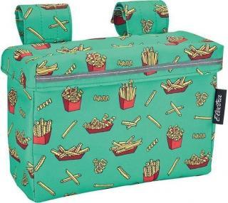 Electra Velcro Handlebar Bag Fries Green