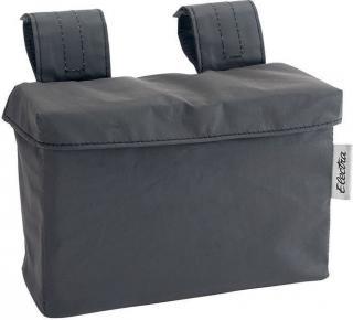 Electra Velcro Handlebar Bag Reflective Black
