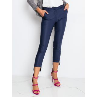 Elegant navy blue RUE PARIS women´s pants dámské Neurčeno 38