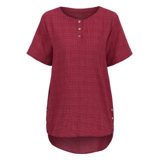 Elegantní triko Harmona - červená