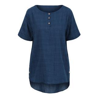 Elegantní triko Harmona - modrá