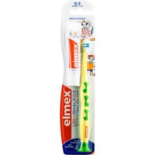 Elmex Caries Protection Kids zubní kartáček pro děti soft   mini pasta 12 ml 12 ml