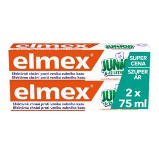 Elmex Dětská zubní pasta Junior Duopack 2x 75 ml