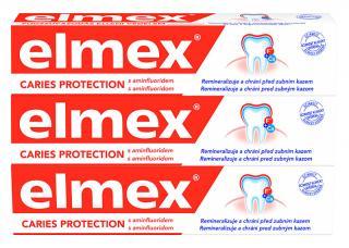 Elmex Zubní pasta Caries Protection 3 x 75 ml