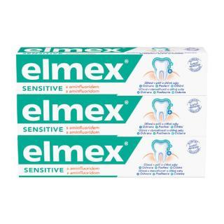 Elmex Zubní pasta Sensitive Professional 3 x 75 ml