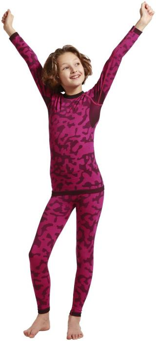 Emero Dětské Funkční Prádlo-Kalhoty L RŮŽOVÁ