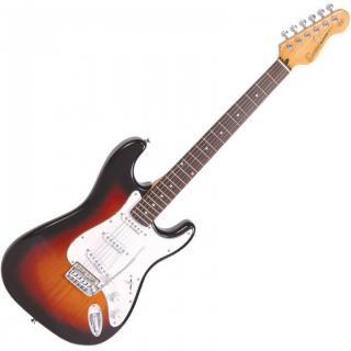Encore E6SB Electric Guitar 3 Tone Sunburst