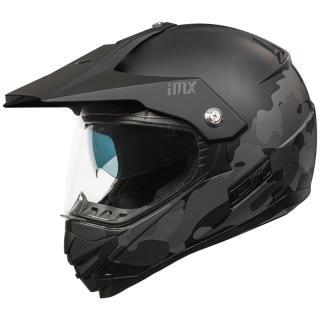 Enduro Přilba Imx Mxt-01  Black Camo  Xl