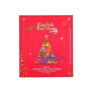 English Tea Shop, adventní kalendář červený, 25 pyramidek