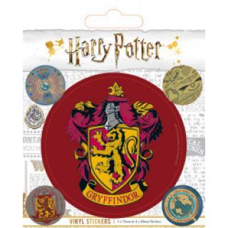 EPEE Czech - Sada samolepek Harry Potter - Nebelvír